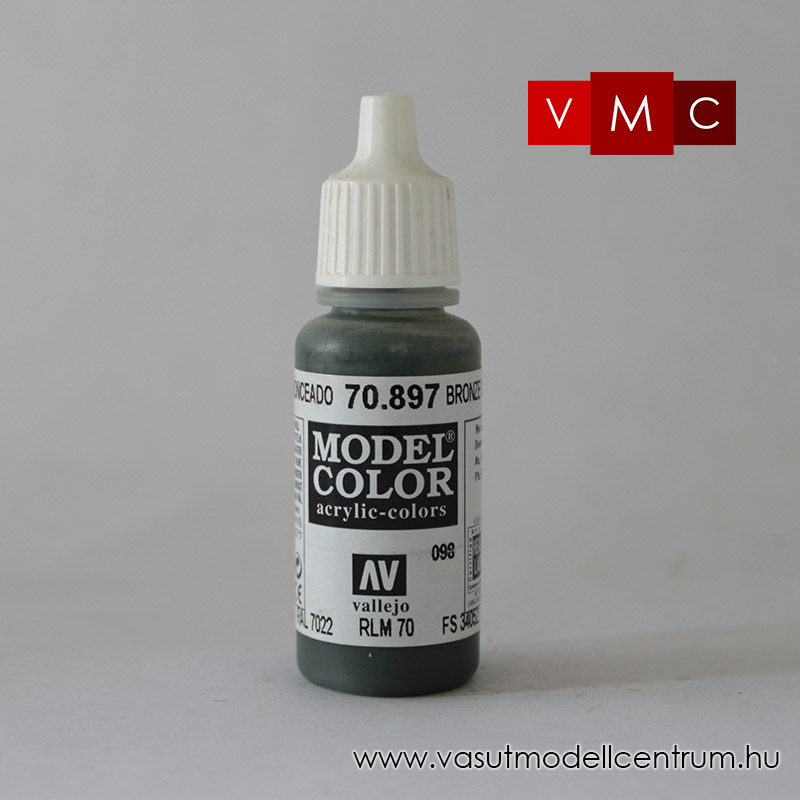Vallejo 70897 Bronze Green - 17 ml (Model Color) (98)