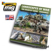 AMIGEURO-0004 LANDSCAPES OF WAR: THE GREATEST GUIDE - DIORAMAS VOL. 1 (English)