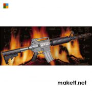 Trumpeter 01908 AR15/M16/M4 Family-M4A1  (1:3)