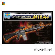 Trumpeter 01915 AR15/M16/M4 FAMILY-M16A4  (1:3)