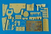 Aires 4521 He 111H-4 interior set for Revell/Mon.  (1:48)