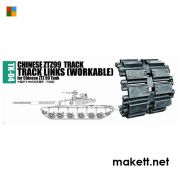 Trumpeter 02034 Chinese ZTZ99 track for Chinese ZTZ99 tank (1:35)