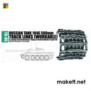 Trumpeter 02035 Russian tank 1946 580mm for Russian T-54/55/62/ZSU-57-2, Chinese T-59/69/79/80/85II (1:35)