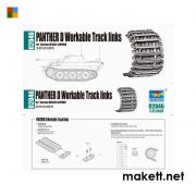 Trumpeter 02046 Panther D Workable Tracks links  (1:35)