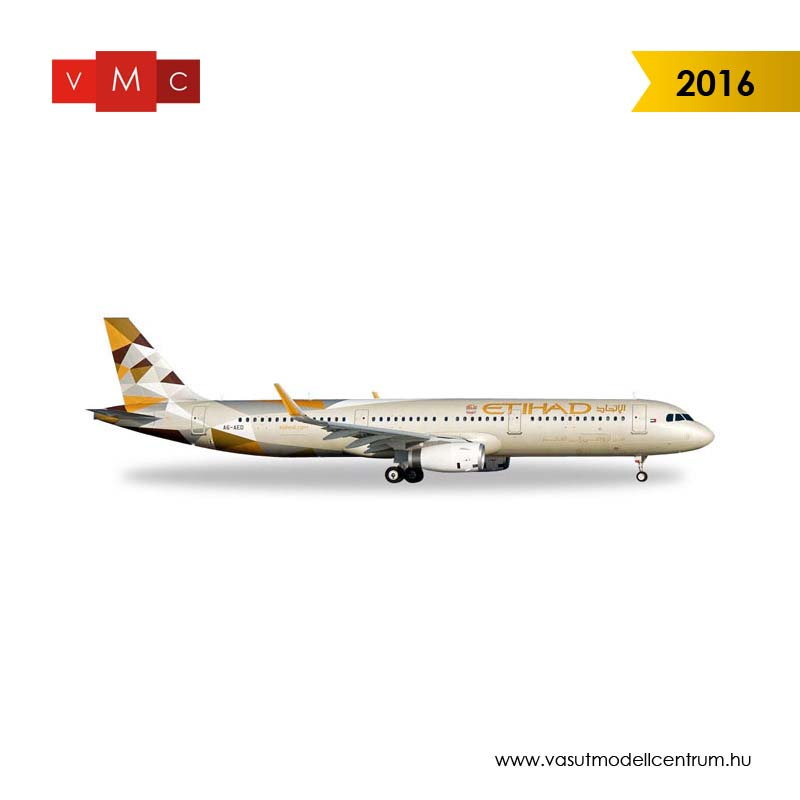 Herpa 528689 Airbus A321 Etihad Airways (1:500)