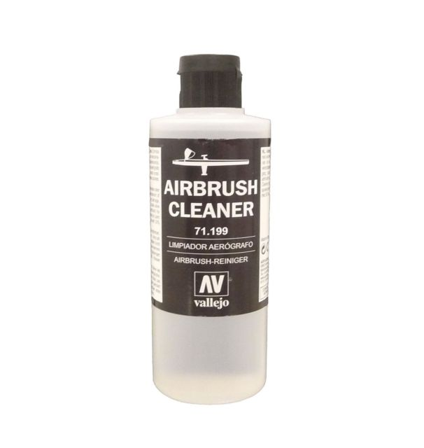 Vallejo 71199 Airbrush Cleaner, 200 ml